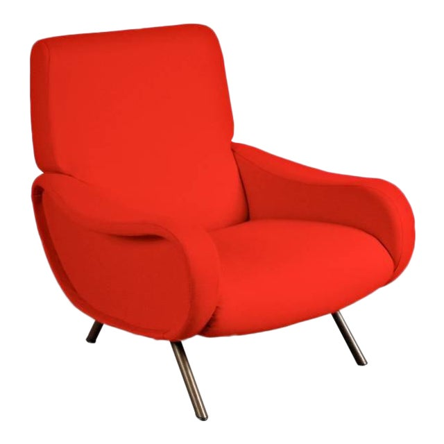 "First Edition ""Lady"" Easy Chair by Marco Zanuso for Arflex, Italy, circa 1950 - Image 1 of 9"