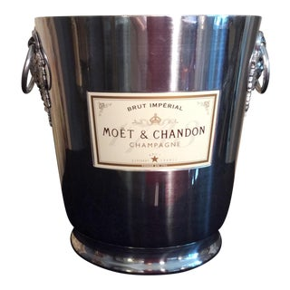 Vintage French Moët &A Chandon Champagne Bucket For Sale