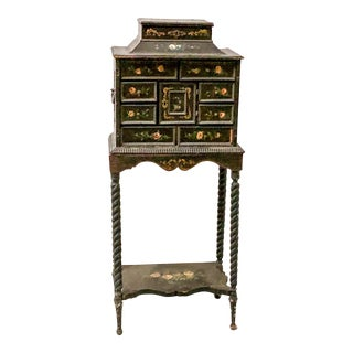 Chinoiserie Pagoda Shaped Jewelry Casket