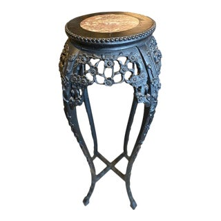 Antique Chinese Planter Stand/Table For Sale