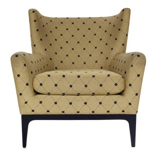 Wing Back Chair, Modern Design