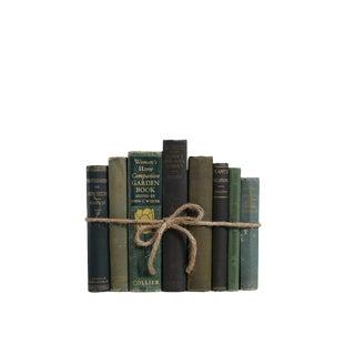 Vintage Decorative Book Gift Set: Gardening in Green