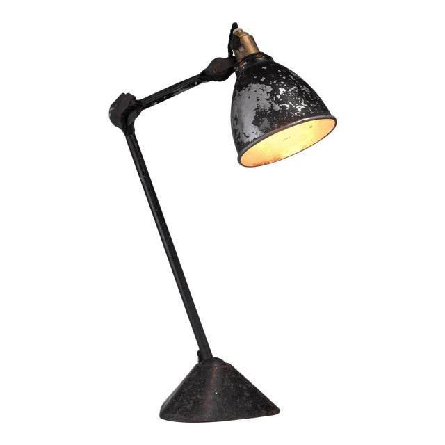 Lampe Gras table lamp by Didier des Gachons & Ravel, France, 1920s For Sale