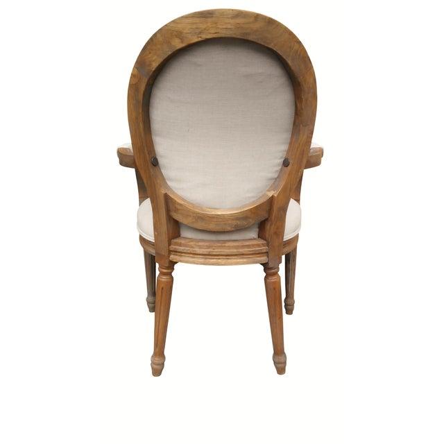 Louis XIV Style Pine Bistro Set - Image 8 of 9
