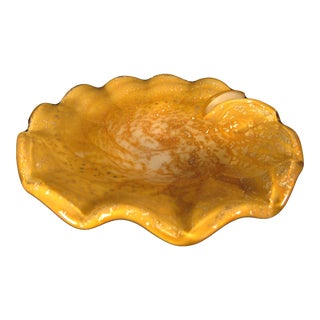 Vintage Murano Hand-Blown Glass Ashtray
