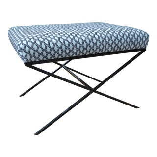 Modern Schumacher Sonoma Bench For Sale
