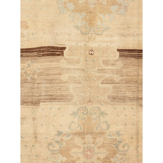 From Kars in the North East of Turkey these vintage hand knotted light colored rugs are similar to Oushak's and are among...