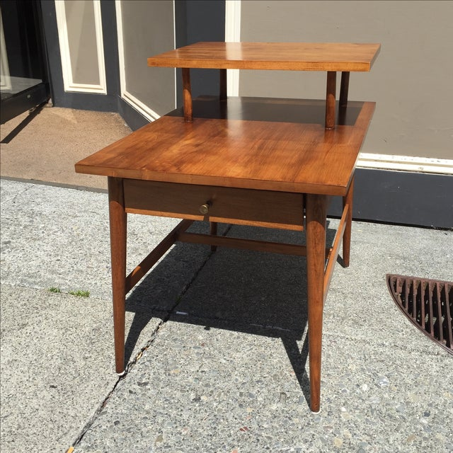 Paul McCobb for Planner Group 2-Tier Side Table - Image 2 of 6