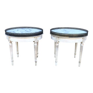 1940s Italian Bouillotte Side Tables - a Pair