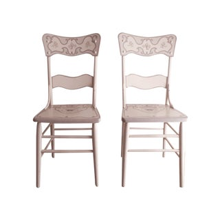 Accent Side Chairs - A Pair