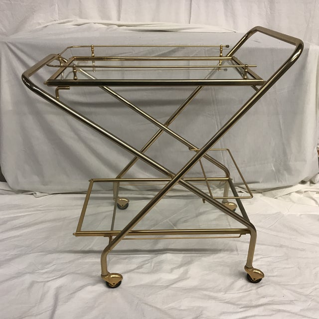 Mid-Century French Bar Cart - Image 8 of 8