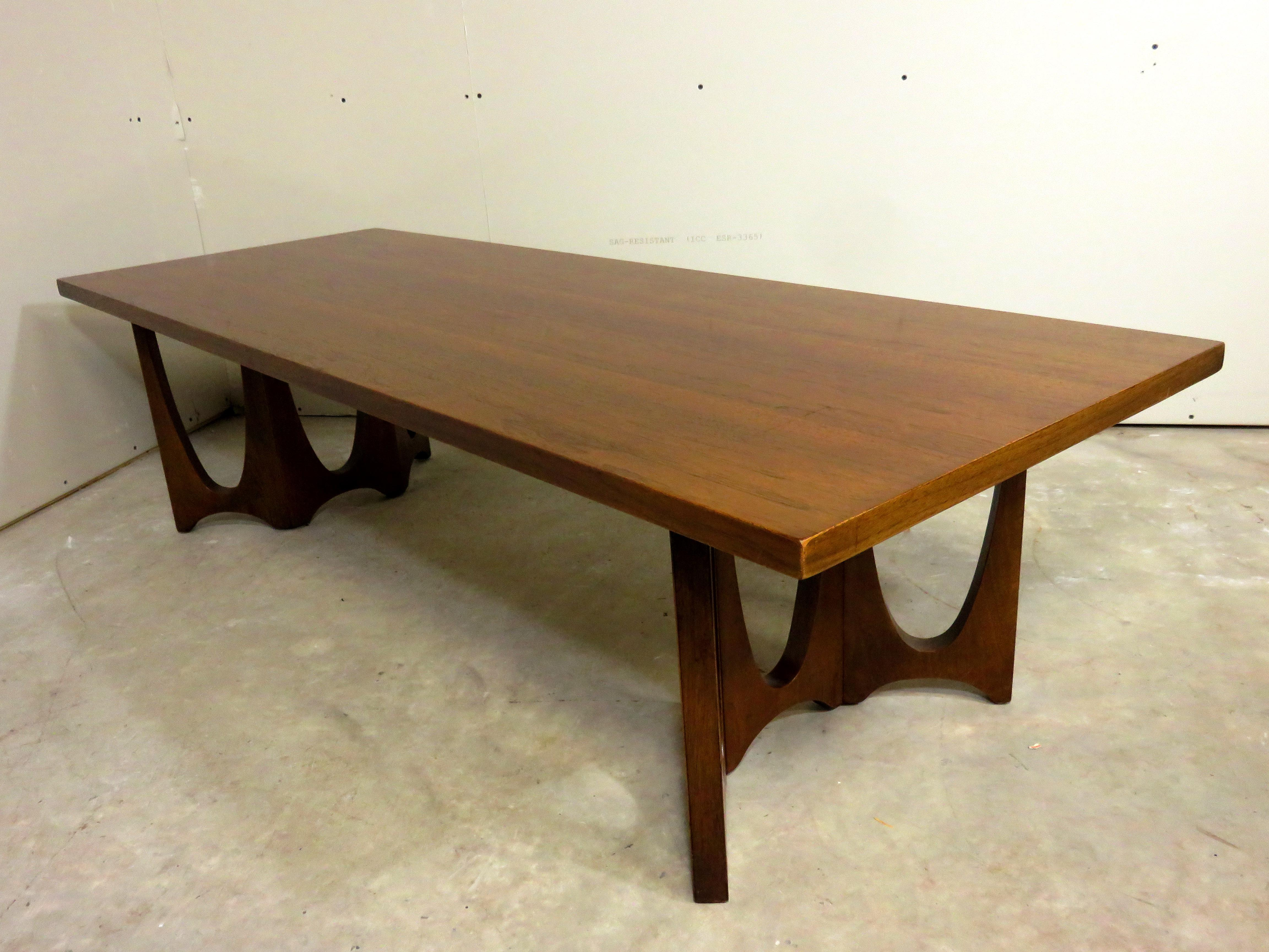 Broyhill Brasilia Mid Century Coffee Table Or Bench   Image 7 Of 10