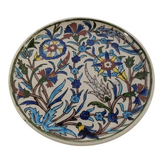 19th Century Antique Turkish Plate For Sale