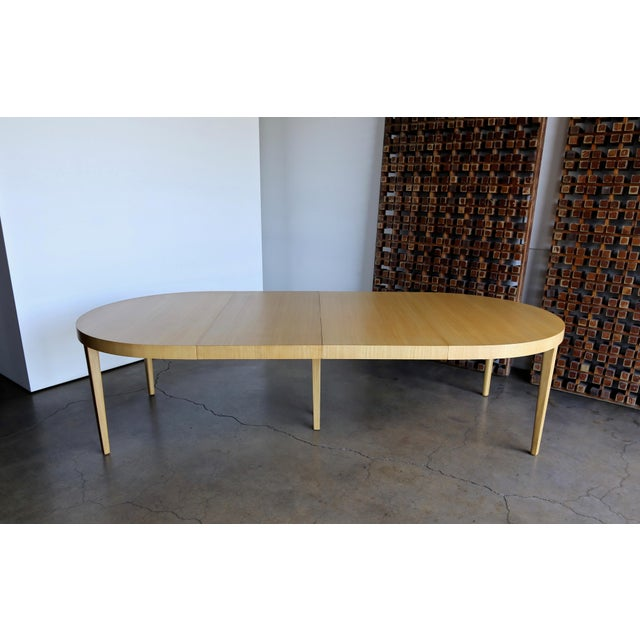 Edward Wormley Dining Table for Dunbar Circa 1950 For Sale - Image 12 of 13