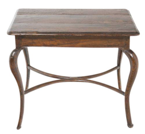19th Century Italian Side Table With Cabriole Legs Chairish