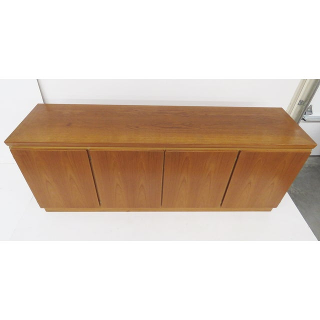 Danish Modern Skovby Mobelfabrik Danish Modern Teak Sideboard For Sale - Image 3 of 6