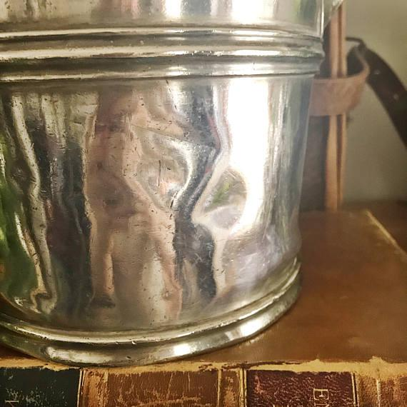 1920s Vintage Silver Champagne Bucket From the Hotel Utica - Image 5 of 6