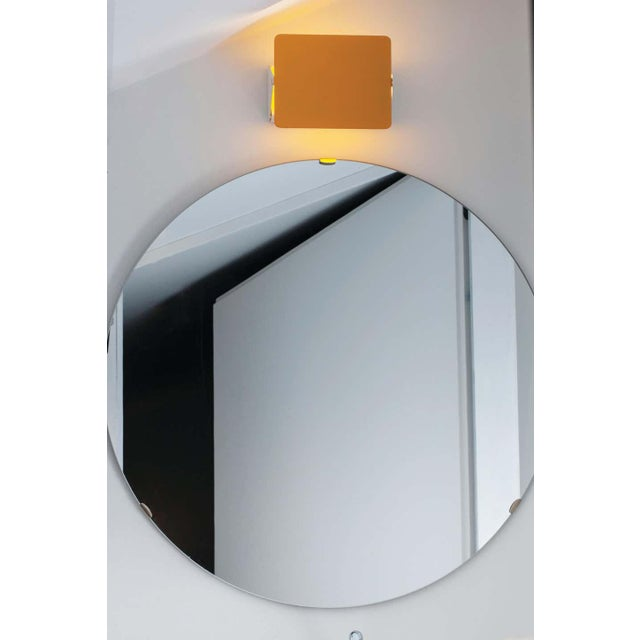 Metal Charlotte Perriand Yellow 'Applique á Volet Pivotant' Wall Lights - a Pair For Sale - Image 7 of 8
