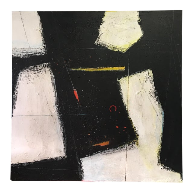 Large Abstract Expressionist Painting - Image 1 of 9