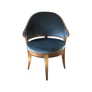 Vintage Dessin Fournir Le Mont Mohair Armchair