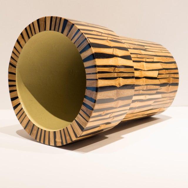 R & Y Augousti R & Y Augousti Bamboo Vase For Sale - Image 4 of 7