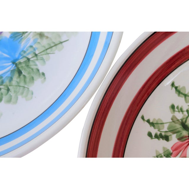 Gary Valenti Italian Ceramic Bowls, a Pair For Sale - Image 4 of 8