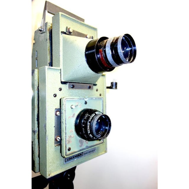 Vintage School Class Picture Roll Film Camera. Circa Mid Century. Display as Sculpture. Reduce: Was: $2999.00 Now: 799.00 For Sale - Image 4 of 8