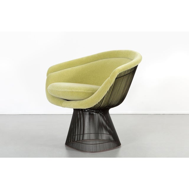 Mid-Century Modern Set of Mid-Century Modern Bronze Platner Lounge Chairs for Knoll For Sale - Image 3 of 13