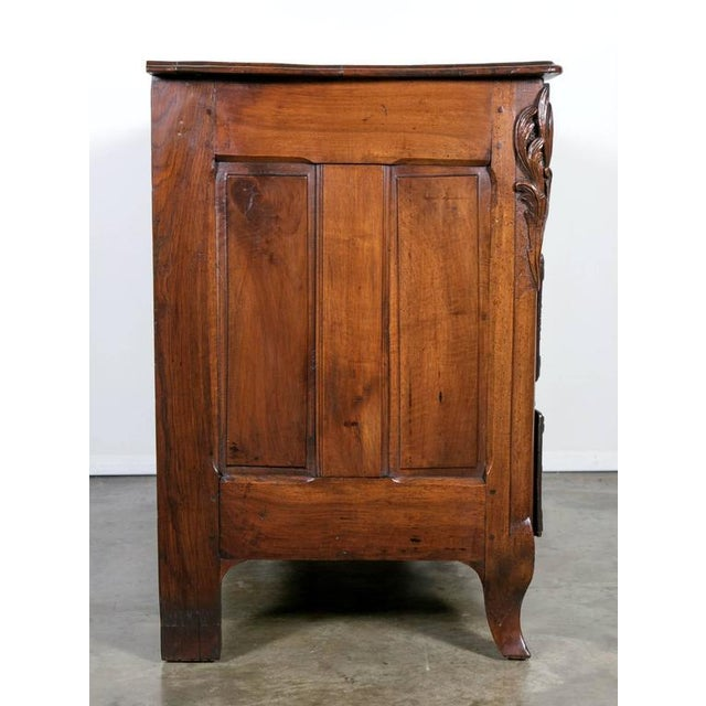 18th Century Regency Period Lyonnaise Commode Galbée For Sale - Image 4 of 10
