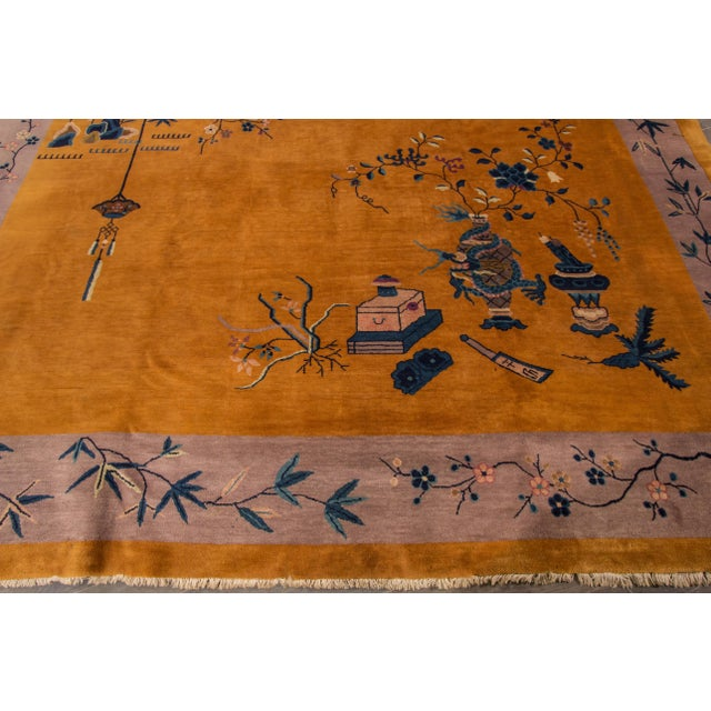 "Apadana Chinese Art Deco Rug - 10' X 13'6"" - Image 3 of 7"