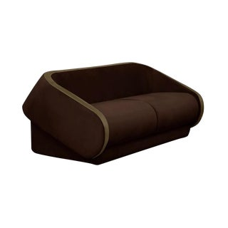 Modern Dark Brown Multy Sofa For Sale