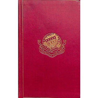 Travellers' Club, Paris Rules, Regulations and List of Members For Sale