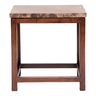 Marble Top Square Table For Sale