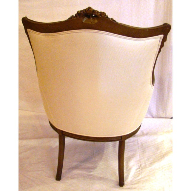 Vintage French-Style Club Chairs - A Pair - Image 4 of 9