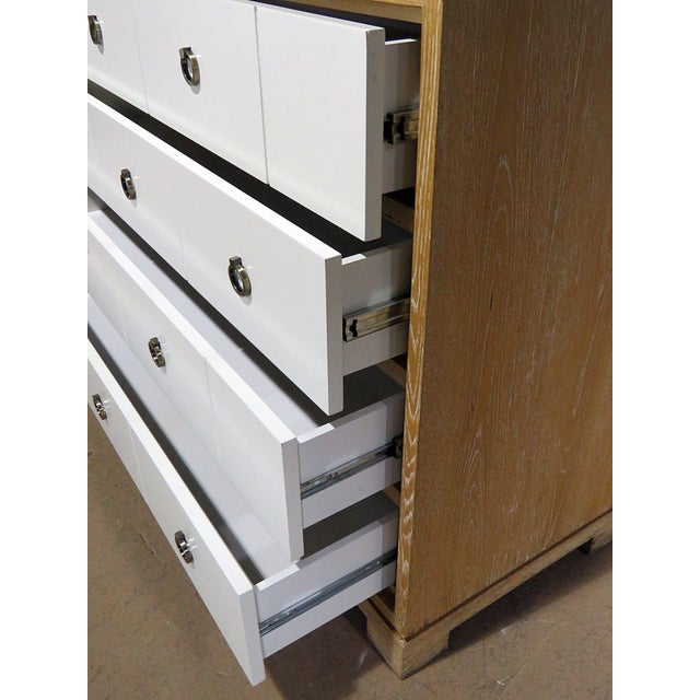 Contemporary Mid-Century Modern Chest of Drawers For Sale - Image 3 of 13