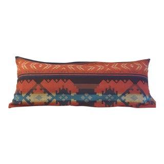 Pendleton Wool Lumbar Pillow For Sale