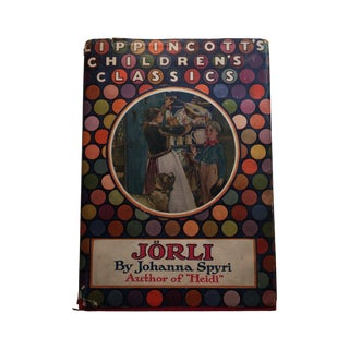 "1928 ""Jorli by Johanna Spryi"" 1st Edition"