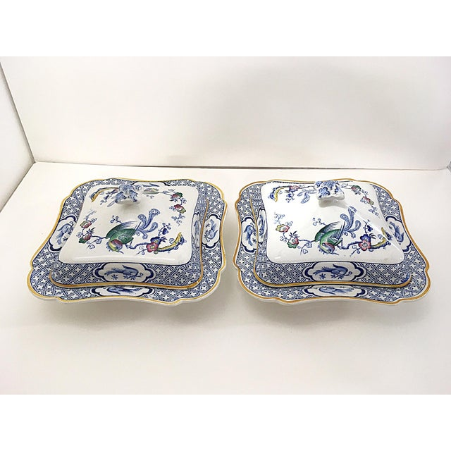 1890s Lawleys Covered Tureens - A Pair For Sale - Image 4 of 11
