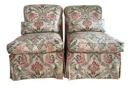 Image of French Slipper Chairs