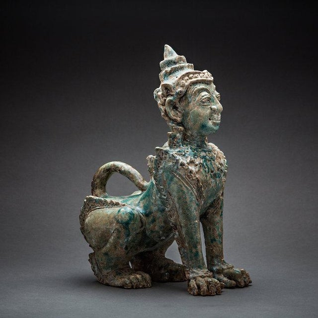 This exceptionally rare ceramic was produced during the khmer period in cambodia. Known mainly for the staggering city of...