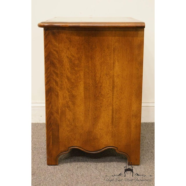 """Ethan Allen Country French Collection 26"""" Nightstand 26-5316 - Finish 236 For Sale - Image 10 of 13"""