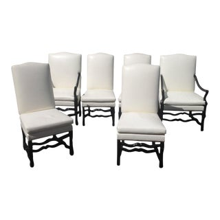Tuscan Style Dining Chairs - Set of 6 For Sale