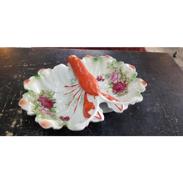 Green Antique Lobster Bowl For Sale - Image 8 of 8