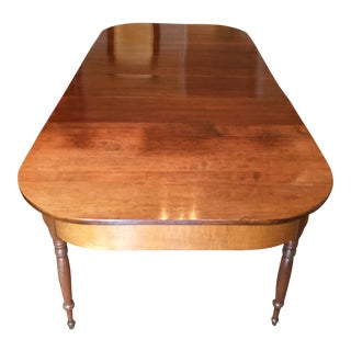 Demi Lune Drop Leaf Banquet Table