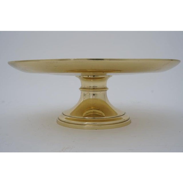 """Late 19th Century Antique 19c """"Joan of Arc"""" Bas Relief Tazza Compote Dish Bronze For Sale - Image 5 of 13"""