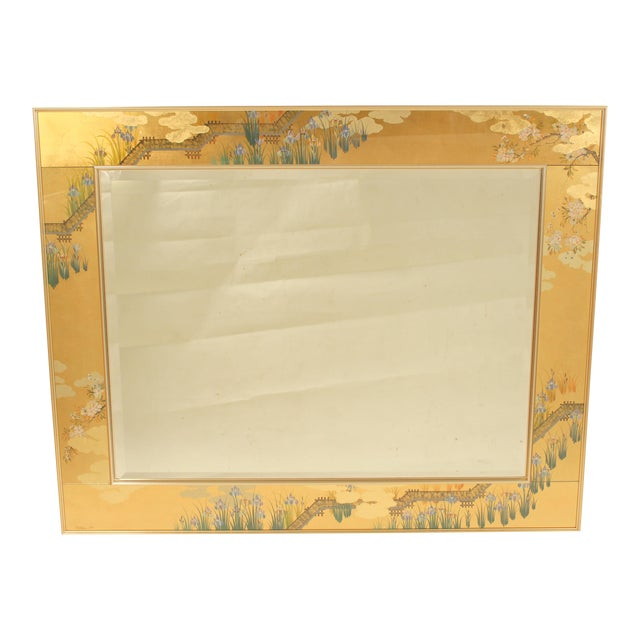 La Barge Chinoiserie Style Mirror, Signed C. Adams For Sale - Image 13 of 13