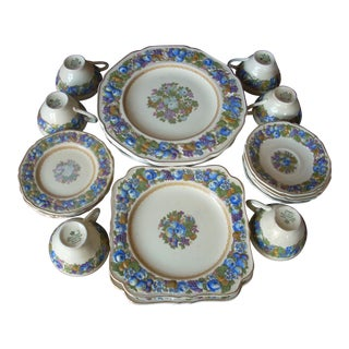 Crown Ducal China Dinnerware - Set of 23 For Sale
