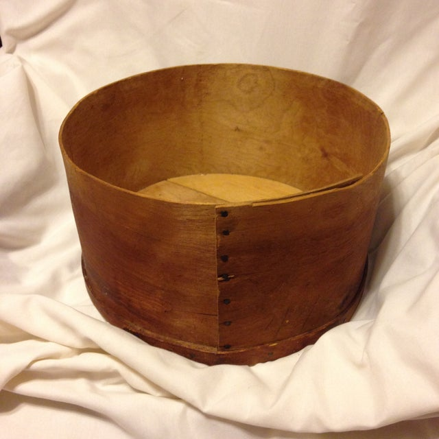 Almost Antique Deep Wood Cheese Box From the Stacy Bros. Co. - Image 4 of 5