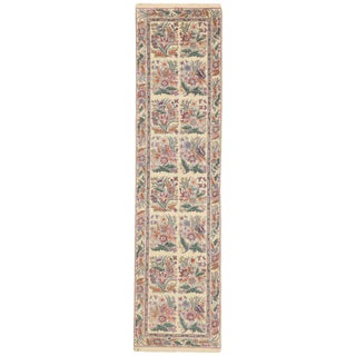 20th Century Chinese Hallway Runner - 2′6″ × 10′ For Sale