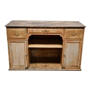 19th Century Antique French Shopkeepers Cabinet